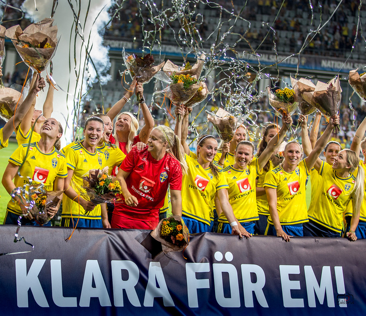 Sverige-Slovakien 2-1 Euro 2017 qualifier