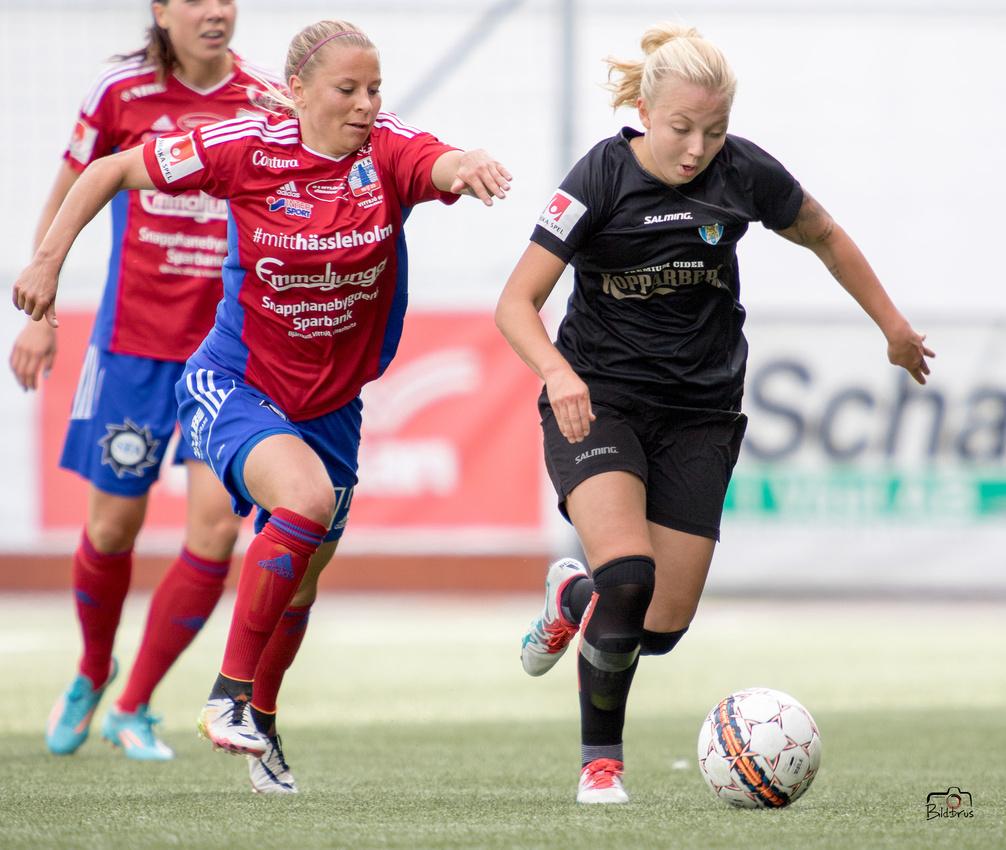 Kopparbergs Göteborg FC - Vittsjö 2-2 Valhalla IP 2 juli-27